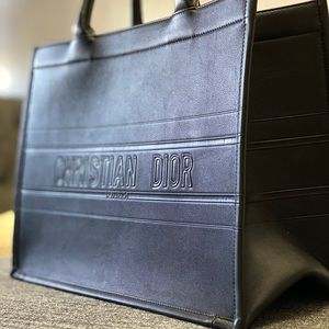Calfskin Small Dior Book Tote